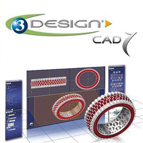 Логотип и интерфейс программы 3Design